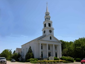 Original congregational church Wrentham